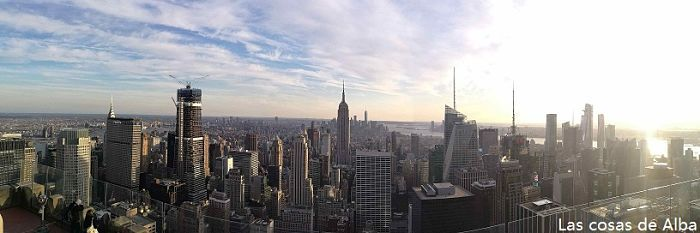 Panoramica desde top of the rock NY